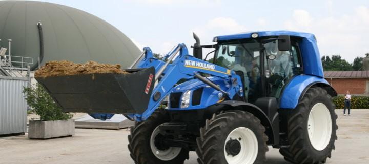 trattore a metano