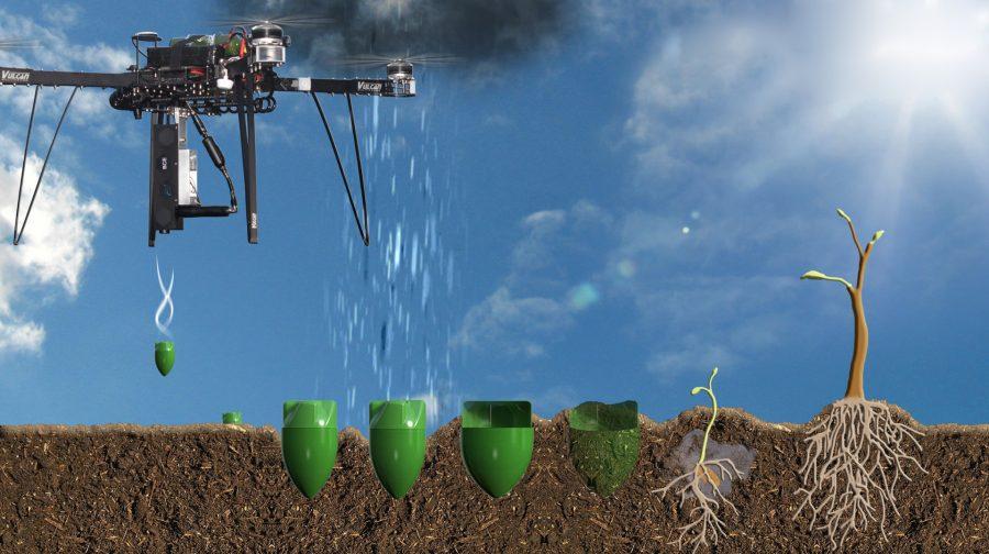 BioCarbonEngineering droni capaci di seminare