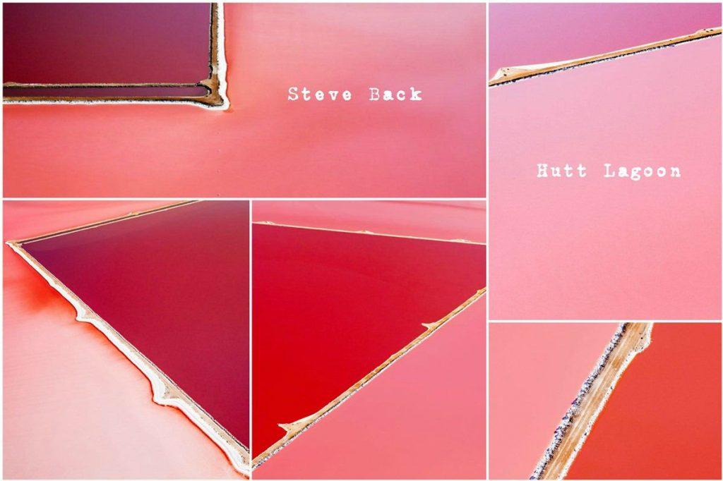 hutt steve back hutt lagoon lago rosa australia