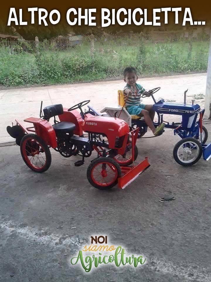 Altro Che Bicicletta Noi Siamo Agricoltura