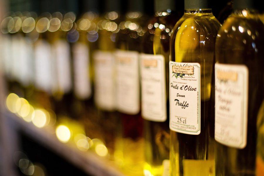 produzione d'olio di oliva