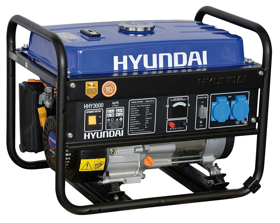 Generatore di Corrente Hyundai HY 3000 - 3 kw