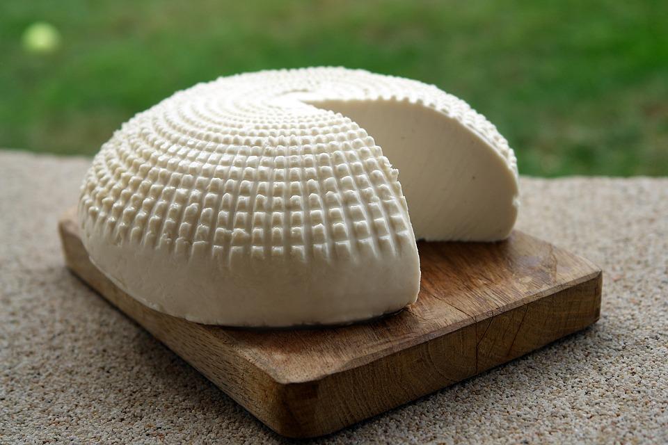 formaggio fresco in casa