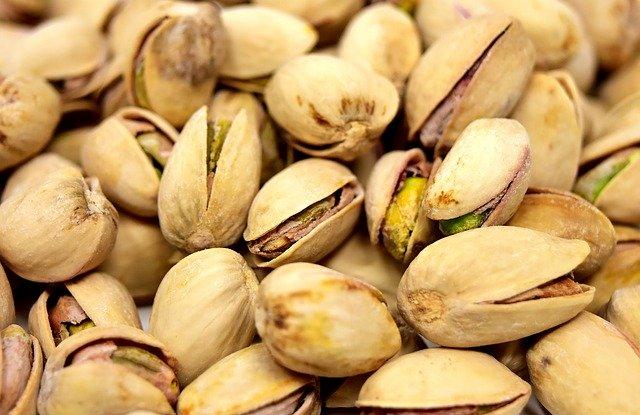 pistacchi in guscio