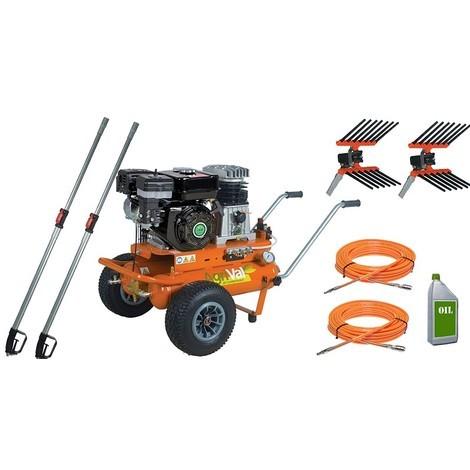 kit motocompressore raccolta olive Agrival