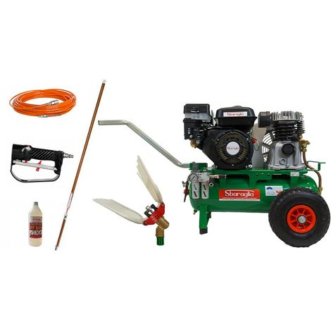 kit motocompressore raccolta olive Sbaraglia